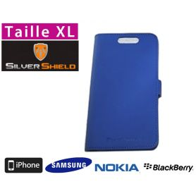 Etui de protection anti-ondes smartphone Silvershield XL - Bleu