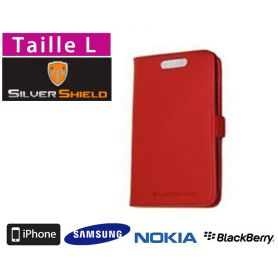 Etui de protection anti-ondes smartphone Silvershield L - Rouge
