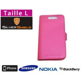 Etui de protection anti-ondes smartphone Silvershield L - Rose