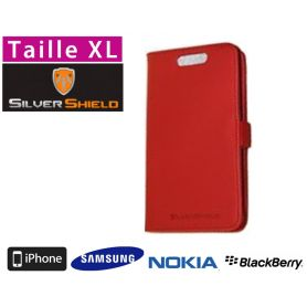 Etui de protection anti-ondes smartphone Silvershield XL - Rouge