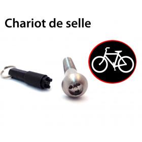 Antivol vélo pour chariot de selle de vélo