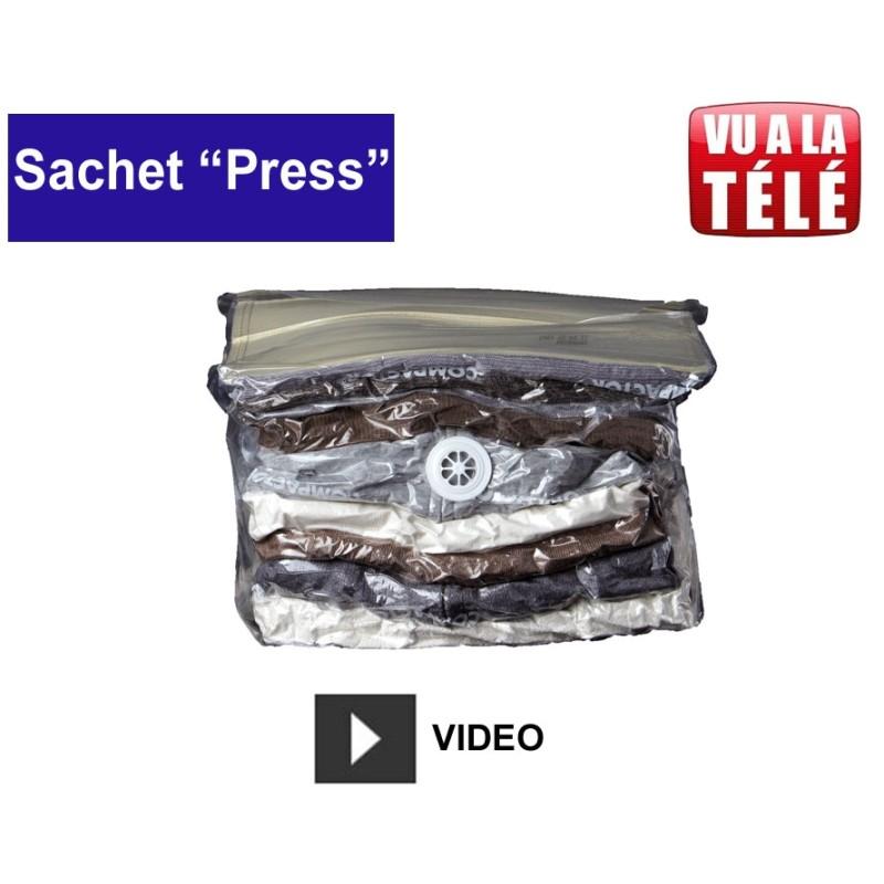 Sac sous vide Compactor Press