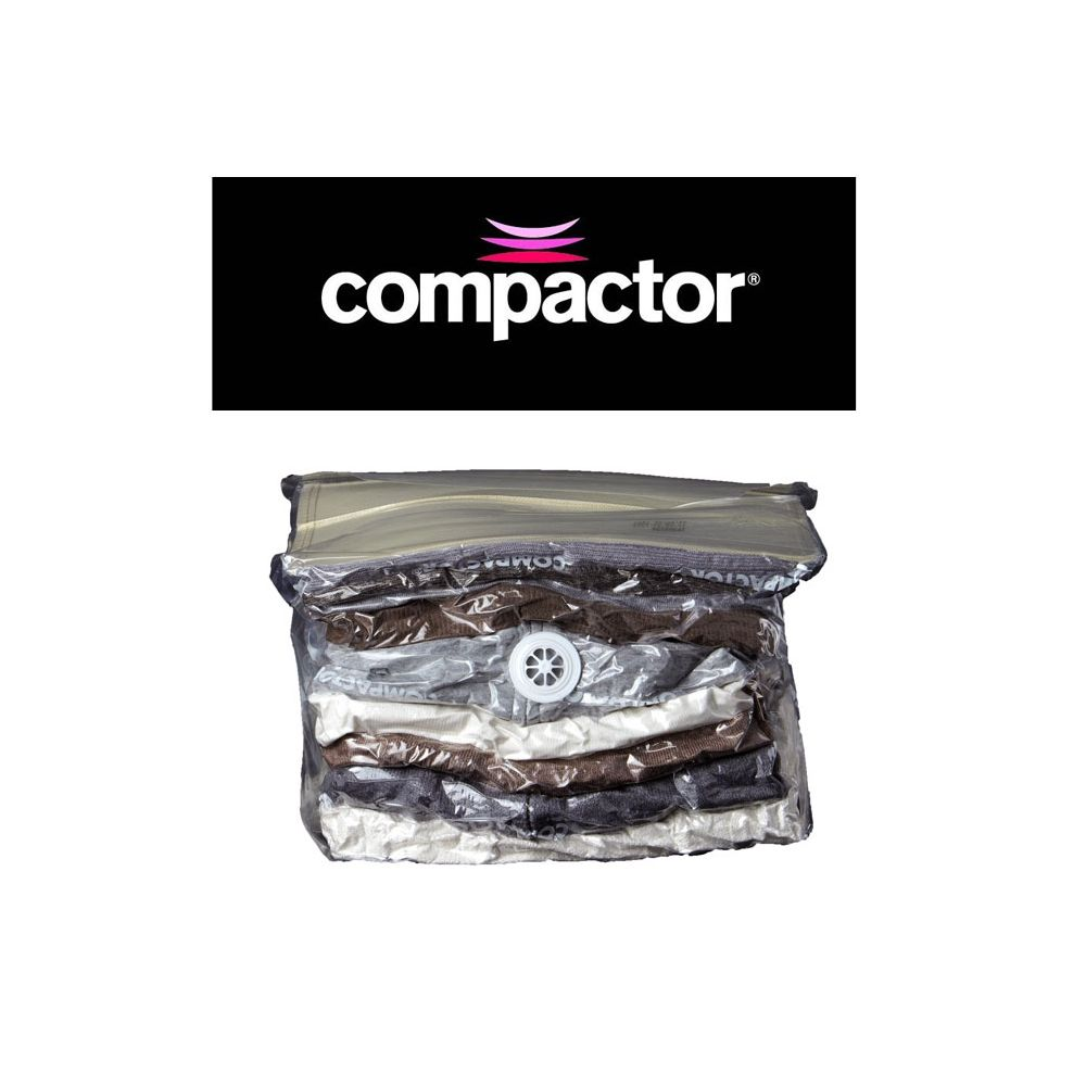compactor sachet de compression sous vide press rangement sous vide compactor. Black Bedroom Furniture Sets. Home Design Ideas