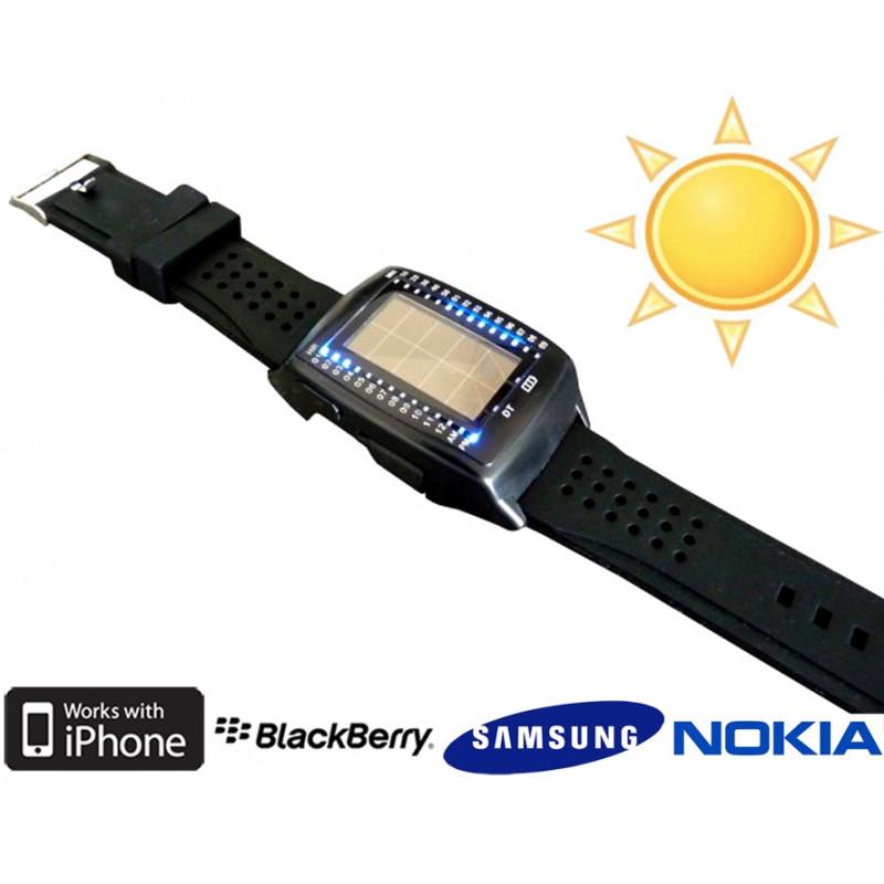 Montre et chargeur solaire 500mAh