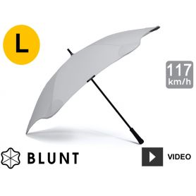 Parapluie tempête anti-vent Blunt - Classic - Gris