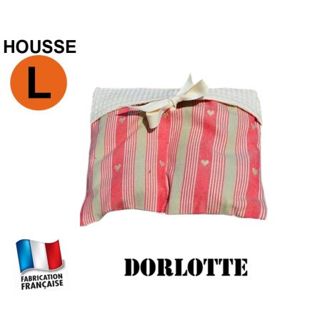 Housse micro-ondes taille L - Coeurs