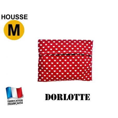 Housse micro-ondes taille M - Coeurs