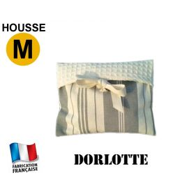 Housse micro-ondes taille M - Rayures grises