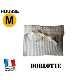 Housse Dorlotte micro ondes 1 compartiment taille M - rayures grises fines