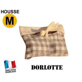 Housse micro-ondes taille M - Carreaux beiges