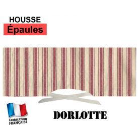 Housse pour chauffe-épaules - Rayures rouges