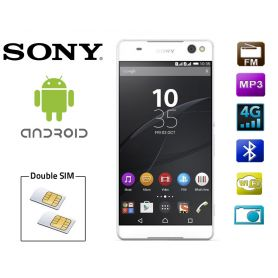 Smartphone 2 SIM Sony Xperia C5 Android - Blanc