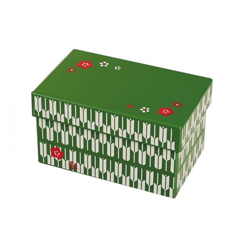 Boîte repas Bento 2 compartiments 980ml - Vert