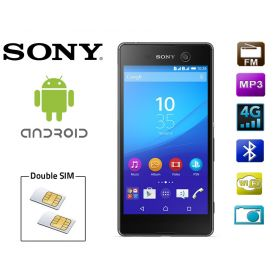 Smartphone 2 SIM Sony Xperia M5 Android - Noir