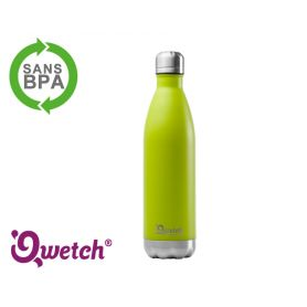 Bouteille isotherme inox Qwetch 500ml - Vert Anis