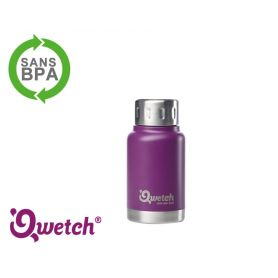 Mug isotherme inox expresso Qwetch 160ml - Violet