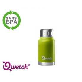 Mug isotherme inox expresso Qwetch 160ml - Vert Anis