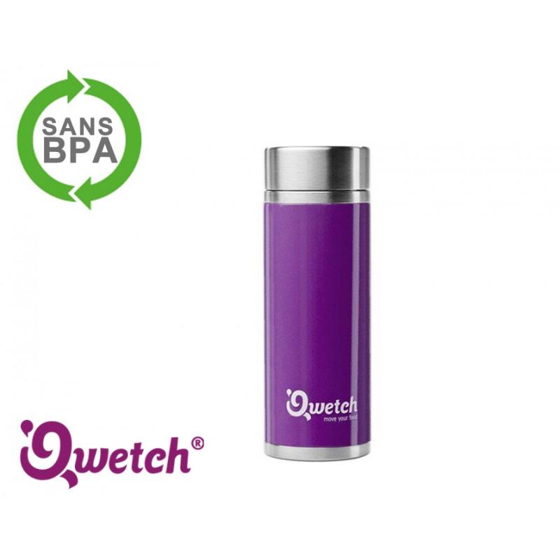 Théière isotherme inox Qwetch 300ml - Violette
