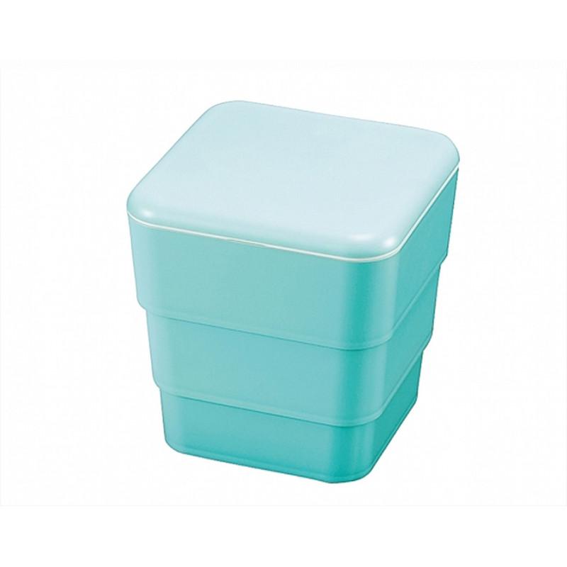 Boîte repas Bento 3 compartiments 3,4L - Turquoise