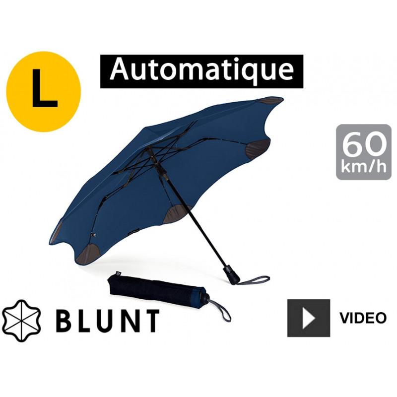 Parapluie tempête Blunt Métro Bleu Marine