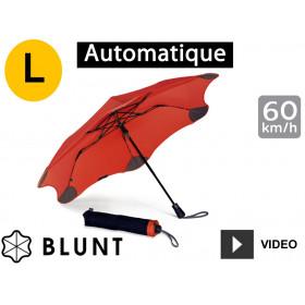 Parapluie tempête anti-vent Blunt - pliant XS Métro - Rouge