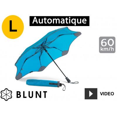 Parapluie tempête anti-vent Blunt - pliant XS Métro - Bleu