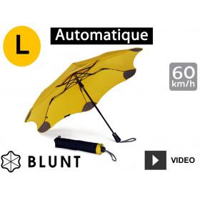 Parapluie tempête anti-vent Blunt - pliant XS Métro - Jaune
