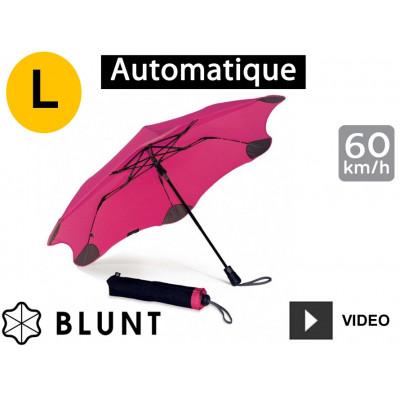 Parapluie tempête anti-vent Blunt - pliant XS Métro - Rose