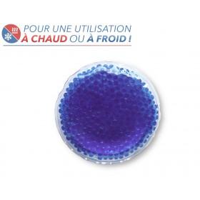 Bouillotte perles moyen modèle bleu