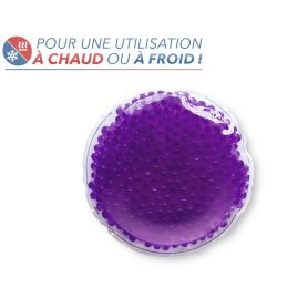 Bouillotte perles moyen modèle violet