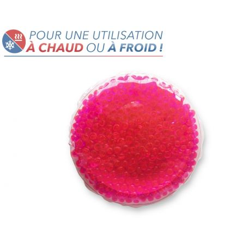 Bouillotte perles moyen modèle rose