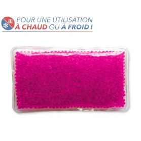 Bouillotte Perles Bouillotte Magique grand modèle - rose