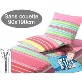 Couchage sans couette 90x190 Odile