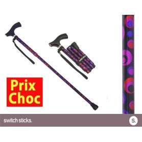 Canne pliante de marche Switch Sticks Cercles