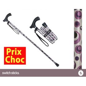 Canne pliante de marche Switch Sticks Orage