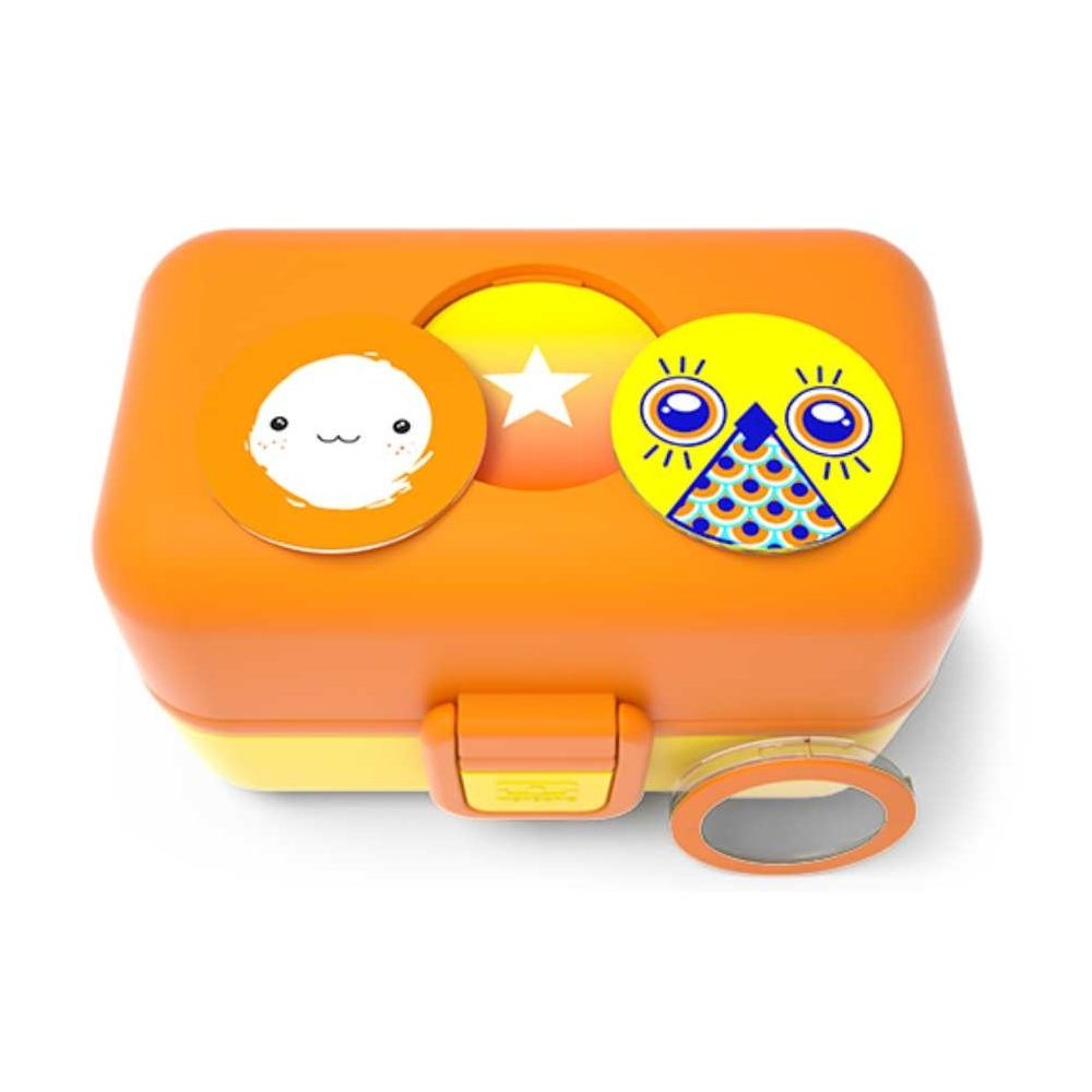 bo te repas bento pour enfant 0 9l lunch box boite alimentaire banane. Black Bedroom Furniture Sets. Home Design Ideas