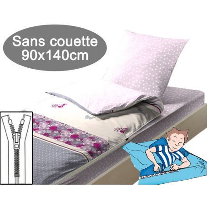 Caradou couchage enfant sans couette 90X140cm - City