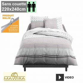 bleu calin caradou syst me t housses de couette enfants avec zip caradou et housses syst me t. Black Bedroom Furniture Sets. Home Design Ideas