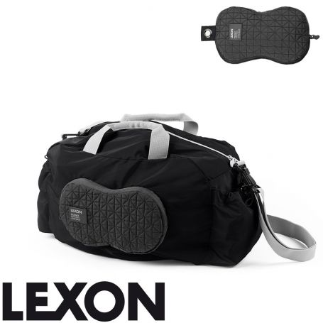 Sac de gym repliable Peanut Lexon - noir