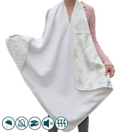 Cape de bain imperméable Ours