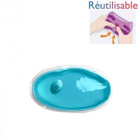 Chaufferette réutilisable - petite bleue