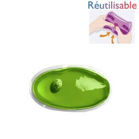Chaufferette réutilisable - petite verte