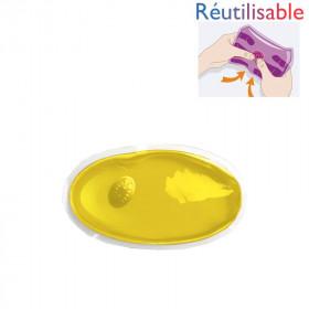 Chaufferette réutilisable - petite jaune