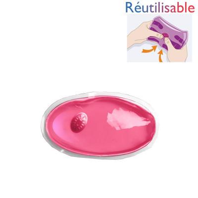 Chaufferette réutilisable - petite rose
