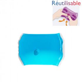 Chaufferette réutilisable - moyenne bleue