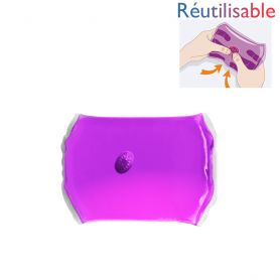 Chaufferette réutilisable - moyenne violette