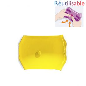 Chaufferette réutilisable - moyenne jaune
