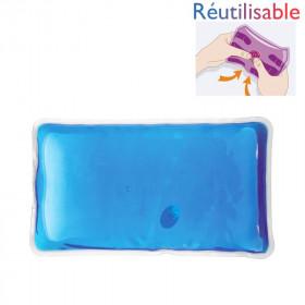 Chaufferette réutilisable - grande bleue