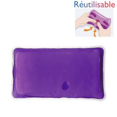 Chaufferette réutilisable - grande violette