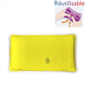 Chaufferette réutilisable - grande jaune